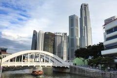 pejzaż miejski Singapore Obraz Royalty Free