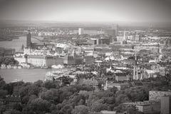 pejzaż miejski Stockholm Fotografia Stock