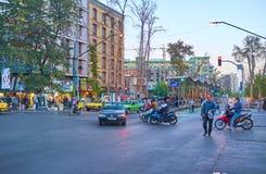 Pejzaż miejski Teheran, Iran Zdjęcie Stock