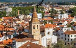 Pejzaż miejski Tomar Ribatejo, Portugalia Obraz Stock