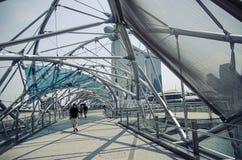 Pejzażu miejskiego drapacza chmur architektury zmierzch Zdjęcie Royalty Free