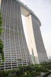 Pejzażu miejskiego drapacza chmur architektury zmierzch Obrazy Royalty Free