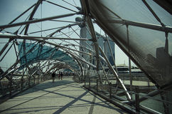 Pejzażu miejskiego drapacza chmur architektury zmierzch Obrazy Stock