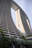 Pejzażu miejskiego drapacza chmur architektury zmierzch Zdjęcia Royalty Free