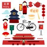 Pekín stock de ilustración