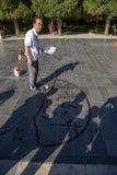Pekín Calígrafo chino mayor Imagen de archivo