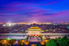 Pekín, China la ciudad Prohibida fotos de archivo
