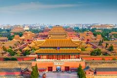 Pekín, China la ciudad Prohibida foto de archivo libre de regalías