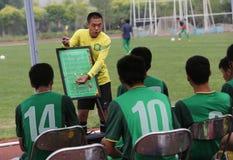 Pekín Guoan-gran Dragon Cup 2014 Fotos de archivo