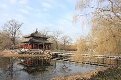 Pekín: palacio de verano viejo Fotos de archivo libres de regalías