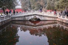 Pekín Wat Chayamangkalaram Imagen de archivo