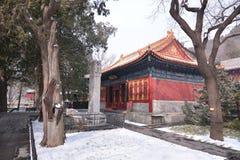 Pekín Wat Chayamangkalaram Imagen de archivo libre de regalías