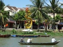 Peka av interst i Vietnam Royaltyfri Bild