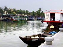 Peka av interst i Vietnam Arkivbilder