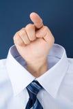 peka för finger Royaltyfri Fotografi