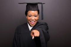 Peka för högskolakandidat Royaltyfri Foto