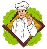 peka för kockfinger royaltyfri illustrationer