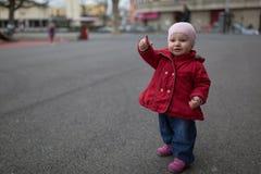 Peka för litet barn arkivfoto