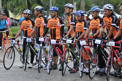 Pekan Royal Town Ride 2011 Stock Photography