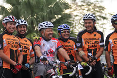Pekan Royal Town Ride 2011 Stock Images