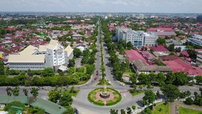 Pekanbaru stad Royaltyfri Bild