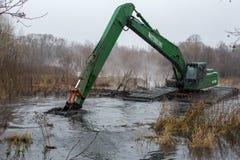 Pekhorka河的清洁 库存图片
