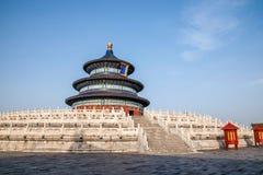 Pekin świątynia Niebiańska świątynia niebo Zdjęcia Stock
