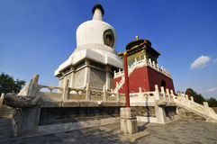 Pekin Beihai park, Zdjęcia Royalty Free