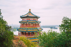 Pekin, China, Straatmening Royalty-vrije Stock Afbeelding