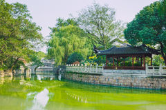 Pekin, China, Street view. Pekin, China, 2016, Street view. Old city and nature. It`s a travel photo, when I walk around city Stock Photography