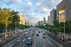 Pekin, Chiny jeden środkowi okręgi Pekin blisko Zdjęcie Stock