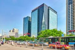 PEKIN CHINY, MAJ, - 22, 2015: Ludzie mieszkanów Beijin Fotografia Stock