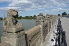 Pekin, Chiny, Marco Polo most Zdjęcie Stock