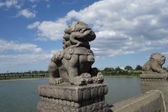 Pekin, Chiny, Marco Polo most Obrazy Stock