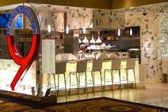 Pekin kluski Nie 9 - Chińska restauracja w Caesar pałac wewnątrz Zdjęcia Royalty Free