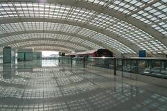 Pekin lotniska pociąg ekspresowy Fotografia Stock