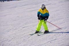 Pekin ludu narciarstwo Zdjęcia Stock