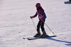 Pekin ludu narciarstwo Obrazy Royalty Free