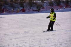 Pekin ludu narciarstwo Obraz Stock