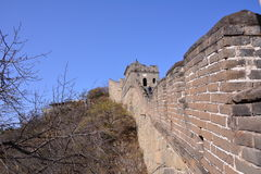 Pekin Mutianyu wielki mur Fotografia Royalty Free