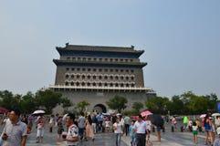 Pekin plac tiananmen Południowa brama zdjęcie royalty free