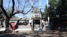 Pekin, Porcelanowe miasto ulicy zbiory wideo