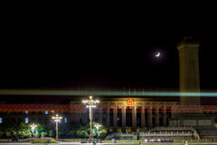 Pekin porcelanowy Plac Tiananmen Zdjęcia Stock
