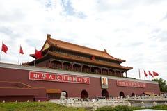 Pekin Tiananmen Obraz Stock