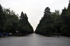 Pekin Tiantan parka krajobraz zdjęcia stock