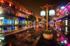 Pekin W centrum zakupy Qian Uliczni mężczyzna Fotografia Stock