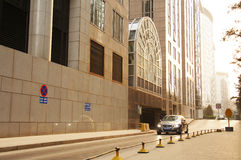 Pekin Wangfujing handlowa ulica Obraz Royalty Free