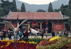 Pekin Xiangshan park zdjęcia stock