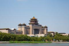 Pekin Zachodnia stacja kolejowa Fotografia Royalty Free