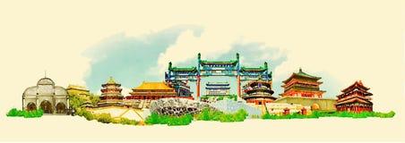 Peking Royalty-vrije Stock Afbeelding